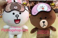 Gấu bông Brown và Thỏ Cony Thái lan (40cm, 60cm)