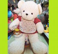 Gấu đầm Cherry lông xoắn (1m2)
