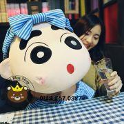 Gấu bông Shin mặc đồ tắm sọc xanh (1m2)
