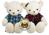 Gấu bông teddy áo caro (1m3)