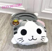 Gối mền Mèo Chii cao cấp (1m1 * 1m6)