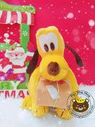 Chó bông Pluto disney ngậm hộp quà (30cm)