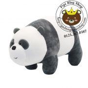 Gấu bông 3 con gấu - Đơn giản tôi là Gấu lông 3d dạng bò (50cm)