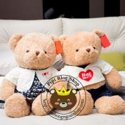 Gấu bông Teddy Baby áo Hug me (40cm, 50cm, 80cm, 1m2)