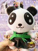 Gau bong panda vay cam la (20cm)