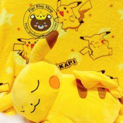 Gối mền Pikachu (1m * 1m5)
