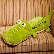 Gấu bông cá sấu lông 3d