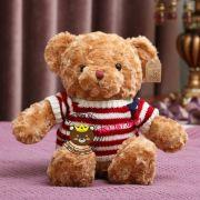 Gấu bông teddy lông xoắn áo len (40cm, 60cm, 80cm, 1m2, 1m4)