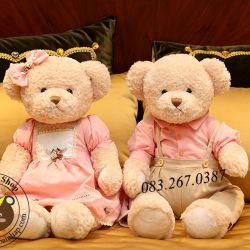 Gấu cặp Hàn quốc Teddy Lovely Bear (60cm)