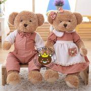 Gấu cặp Hàn quốc Teddy Lovely Bear (70cm)