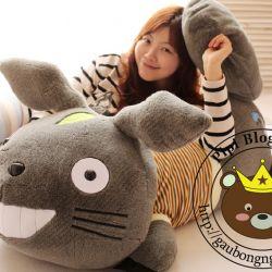 Gấu bông Totoro nằm (40cm, 60cm, 80cm, 1m, 1m2, 1m6)