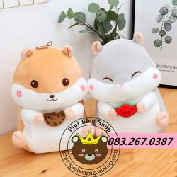 Gấu bông Hamster lông 3d Littlecucu dễ thương