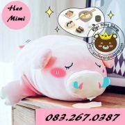 Heo bông Mimi dễ thương Littlecucu (40cm, 60cm, 80cm, 1m, 1m3)