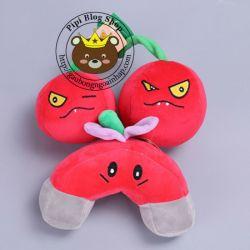 Thú bông Plants: cherry đôi, cục hít đỏ (20cm)