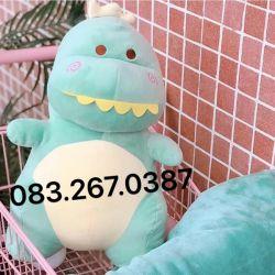 Gối mền Khủng long siêu cute (60cm)