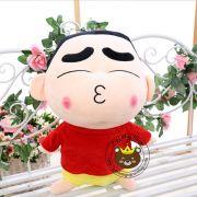 Gấu bông Shin mặc áo đo quần vàng mỏ chu (40cm, 80cm, 1m, 1m2, 1m5
