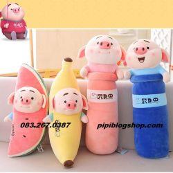 Gối ôm Heo Tiktok siêu cute hàng Littlecucu (70cm)