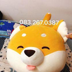 Chó bông Shiba nằm (70cm, 80cm, 1m)