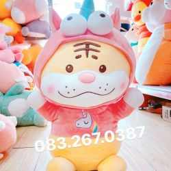 Cọp bông cosplay unicorn (60cm)