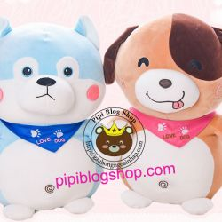 Chó bông cute Love Dog (45cm, 60cm)