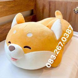 Chó bông Shiba nằm (70cm, 1m)