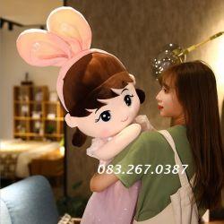 Búp bê tai thỏ Hello Princess (60cm, 80cm, 1m)