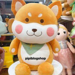 Chó bông Shiba ngồi (80cm)