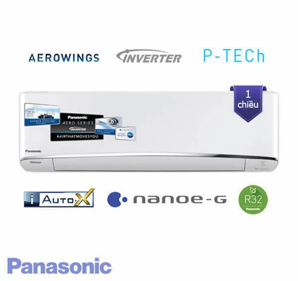 Điều hòa Panasonic 9000 btu 1 chiều inverter CU/CS-U9TKH-8