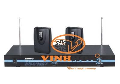 Bộ thu phát micro không dây cài áo SHUPU SM-VC227