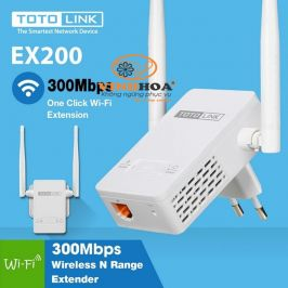 Thiết bị kích sóng WiFi Repeater Totolink EX200