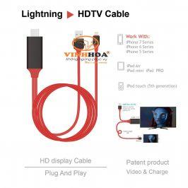 Cáp Lightning kết nối HDMI cho iPhone và iPad
