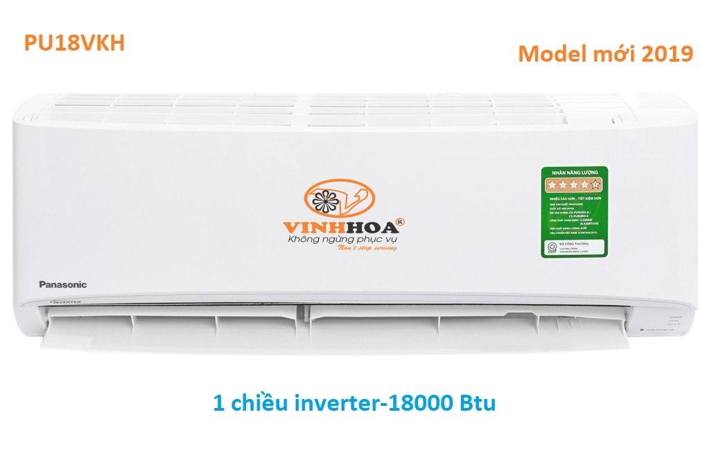 Điều hòa Panasonic 18000 1 chiều inverter PU18VKH