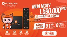 Đầu giải trí FPT Play Box S400 (2019)