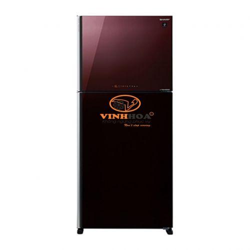 Tủ lạnh Sharp Inverter SJ-XP555PG-BR (570L/516L)
