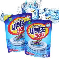 Gói tẩy vệ sinh lồng máy giặt lớn 450g Hàn Quốc