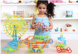 Bộ que xếp hình thông minh sáng tạo cho bé trên 3 tuổi