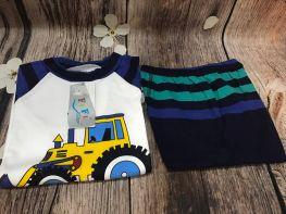 Bộ quần áo hè chất cotton cho các bé từ 19-20kg(size 6)