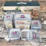 Bộ sản phẩm 6 hộp nhựa Lock&Lock