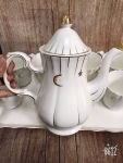 Bộ ấm chén trà ceramics Hàn Quốc