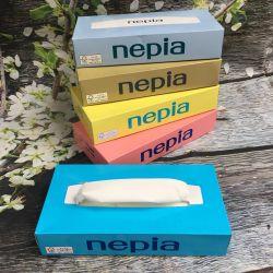 SET 5 Hộp giấy ăn Nepia Nepia Nhật Bản 160 tờ/ hộp