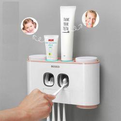 Gía treo bàn chải kèm 2 nặn kem đánh răng tự động ecoco