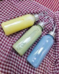 Combo 5 bình thủy tinh có dây cầm tiện lợi lại vệ sinh cho các tín đồ Detox