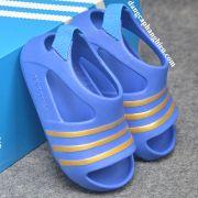 Sandal Adidas Adilette Blue Gold