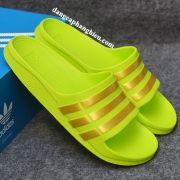 Dép Adidas Duramo chính hãng xanh chuối vàng kim