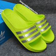 Dép Adidas Duramo chính hãng xanh chuối bạc