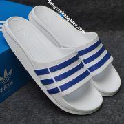 Dép Adidas Duramo chính hãng trắng xanh dương