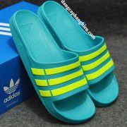 Dép Adidas Duramo chính hãng xanh ngọc xanh