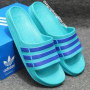 Dép Adidas Duramo chính hãng xanh ngọc xanh dương