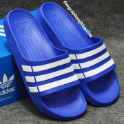 Dép Adidas Duramo xanh dương trắng