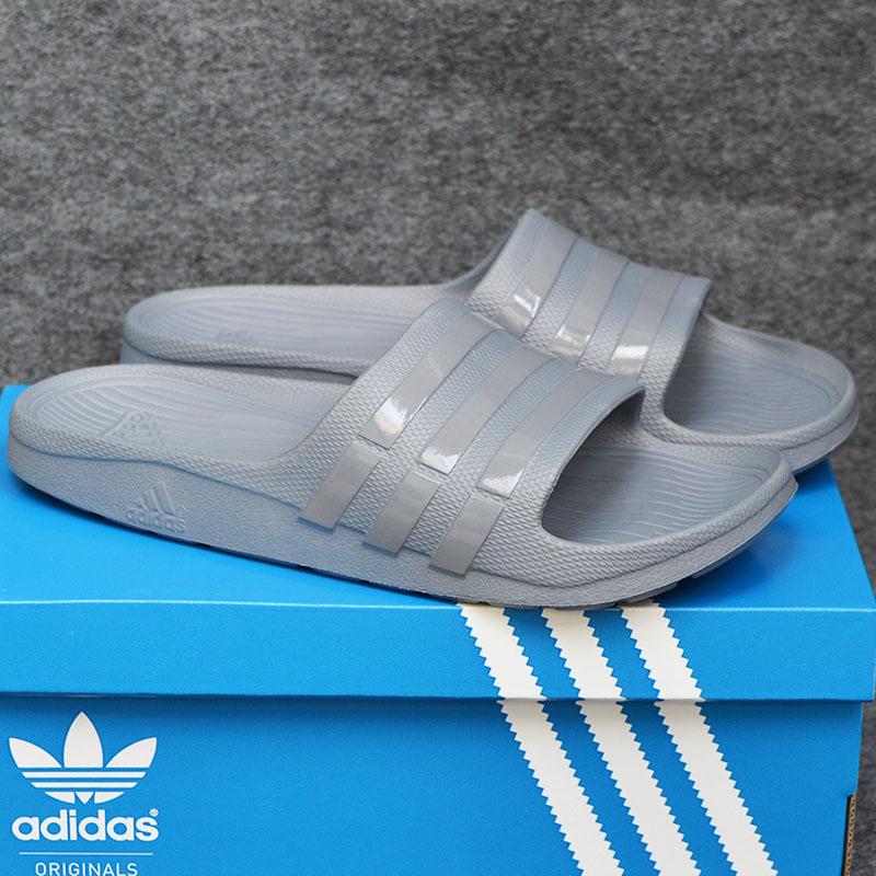 015145 Adidas Duramo All Grey 1